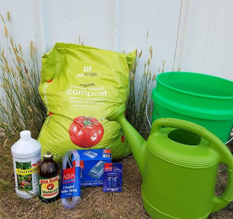 How to Make Compost Tea – Easy Step by Step Instructions